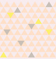 mosaic triangle tiles seamless pattern vector image vector image