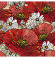 Seamless pattern with flowers vector | Price: 1 Credit (USD $1)