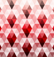 Triangle polygon seamless pattern vector image vector image