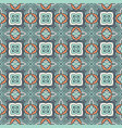 absract seamless geometric mosaic print vector image vector image