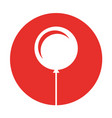 balloon air party icon vector image vector image