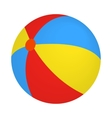 Colorful ball icon isometric 3d style vector image vector image