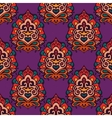 Colorful Ethnic Festive Floral Pattern vector image vector image