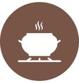 Cooking on Stove vector image vector image