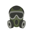 gas mask flat vector image vector image