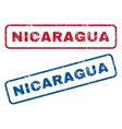 Nicaragua Rubber Stamps vector image vector image