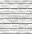 White brick seamless texture vector image