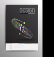 Brochure Design Template Business Abstract vector image vector image