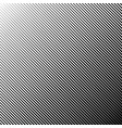 diagonal abstract black striped background vector image