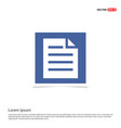 document icon - blue photo frame vector image vector image