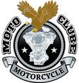 Motorcycle biker racing design vector image