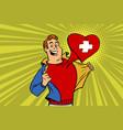 sports fan loves switzerland vector image vector image