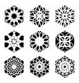 Square Ornament Set vector image vector image