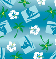 surfer pattern vector image vector image