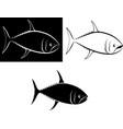 tuna vector image