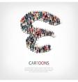 cartoons people shape vector image