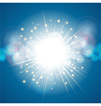 abstract light explosion vector image vector image