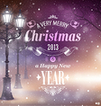 Christmas greeting card vector | Price: 3 Credits (USD $3)