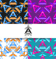 ethnic abstract pattern background vector image vector image