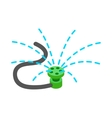 Sprinkler icon isometric 3d style vector image