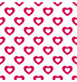 valentines day background love theme seamless vector image vector image
