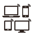 Laptop mobile phone tablet and monitor