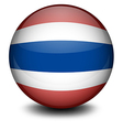 A ball from Thailand vector image