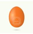 Festive easter egg