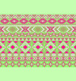 ikat pattern tribal motifs geometric seamless vector image vector image