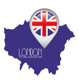 london city design vector image vector image