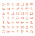 pattern icons vector image vector image