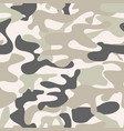 seamless camouflage pattern khaki texture vector image vector image