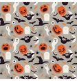 Seamless cartoon Halloween pattern Halloween
