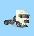 truck car model perspective vector image
