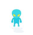 alien extraterrestrial vector image