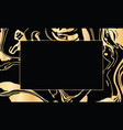 black and gold design template for party vector image