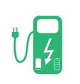 Concept Fuel Station for Electric cars on vector image vector image