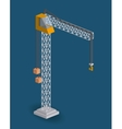 crane isometric design vector image