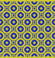 green and blue geometric seamless pattern with vector image vector image