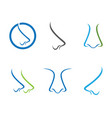 nose symbol vector image