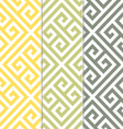 Seamless greek key background pattern vector | Price: 1 Credit (USD $1)