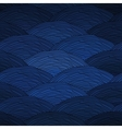Seamless pattern with abstract waves texture vector image vector image