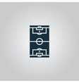 Soccer field icon EPS 10 vector image vector image