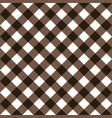 squares textile seamless pattern brown colors vector image vector image