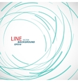 abstract color line and circle background vector image vector image