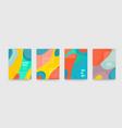 abstract fun color pattern cartoon texture vector image vector image