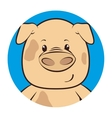 cute animal tender character vector image vector image