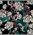 eclectic seamless pattern with spray paint and vector image vector image