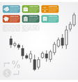 forex infographic vector image vector image