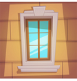 Retro Cartoon Window vector image